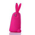 TPU Three-dimensional Rabbit Covers Silicone Shell for iPhone 6S - Rose