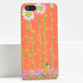 Ultrathin Matte Cases Sunflower boy Hard Back Covers for iPhone 6S - Orange