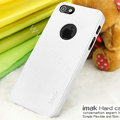 IMAK Matte double Color Cover Hard Case for iPhone 7 - White