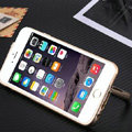 Unique Aluminum Bracket Bumper Frame Case Support Cover for iPhone 6 4.7 - Gold