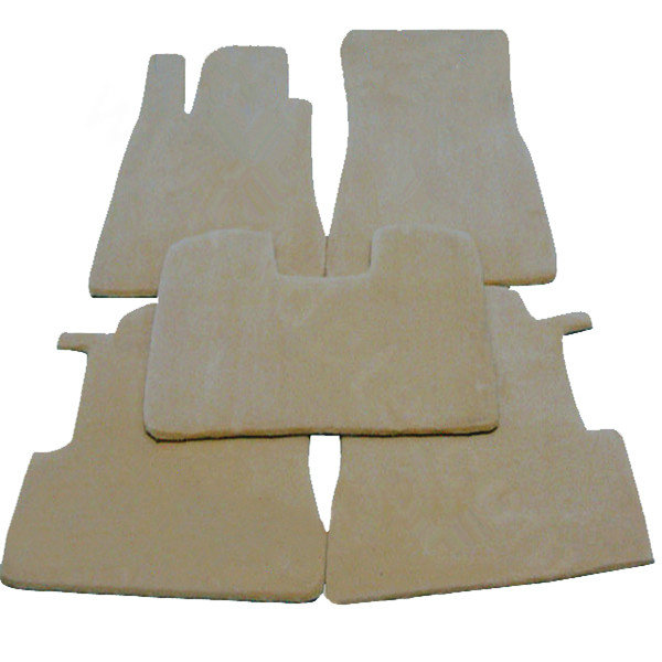 Buy wholesale quality tailored winter genuine sheepskin for Mercedes benz winter floor mats