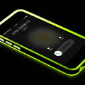 Rock Luminescence TPU Bumper Frame Covers Silicone Cases for iPhone 6S Plus 5.5 - Green