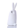 TPU Three-dimensional Rabbit Covers Silicone Shell for iPhone 6S Plus 5.5 - White