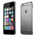 Ultrathin Aviation Aluminum Bumper Frame Protective Shell for iPhone 6S Plus 5.5 - Gray