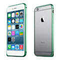 Ultrathin Aviation Aluminum Bumper Frame Protective Shell for iPhone 6S Plus 5.5 - Green