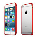 Ultrathin Aviation Aluminum Bumper Frame Protective Shell for iPhone 6S Plus 5.5 - Red