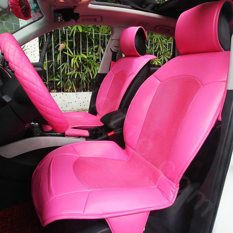Buy Wholesale Fashion Cute Pu Leather Universal Car Seat