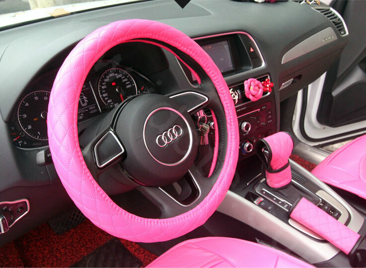 Buy Wholesale Luxury Cute Pu Leather Universal Car Seat Covers