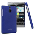 IMAK Cowboy Shell Hard Cases Housing for BlackBerry Passport Silver Edition - Blue
