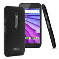 IMAK Cowboy Shell Hard Cases Housing for Motorola G3 - Black