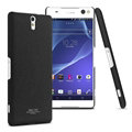 IMAK Cowboy Shell Hard Cases Housing for Sony Xperia C5 Ultra - Black