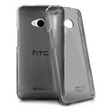 IMAK Crystal Cases Hard Covers Shell for HTC One 802w 802t 802d - Black