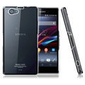 IMAK Crystal Cases Hard Covers Shell for Sony Z1 mini M51W Z1 Compact - Transparent