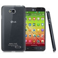 IMAK Crystal II Casing Wear Covers Housing for LG L90 D410 - Transparent