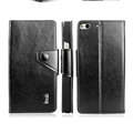 IMAK Eternal R64 Flip Leather Cases Support Holster Covers for Gionee E6 - Black