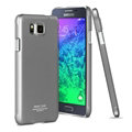 IMAK Jazz Color Covers Hard Cases for Samsung Galaxy Alpha G8508S G8509V - Gray