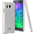 IMAK Jazz Color Covers Hard Cases for Samsung Galaxy Alpha G8508S G8509V - Silver