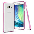 IMAK Metal Cases TPU Shell Bumper Frame Covers for Samsung Galaxy A7 A7009 - Rose