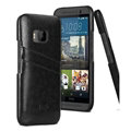 IMAK Sagacity Leather Cases Holster Covers Shell for HTC One M9 - Black