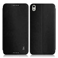 IMAK Squirrel Lines Leather Cases Support Holster Covers for HTC Desire 816 800 D816W - Black