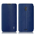 IMAK Squirrel Lines Leather Cases Support Holster Covers for Huawei Ascend Mate 2 MT2 - Blue