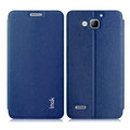 IMAK Squirrel Lines Leather Cases Support Holster Covers for Huawei G750 Honor 3X - Blue
