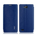IMAK Squirrel Lines Leather Cases Support Holster Covers for Huawei Honor 3C - Blue