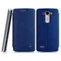IMAK Squirrel Lines Leather Cases Support Holster Covers for LG G3 Beat G3mini - Blue