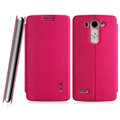 IMAK Squirrel Lines Leather Cases Support Holster Covers for LG G3 Beat G3mini - Rose