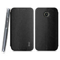 IMAK Squirrel Lines Leather Cases Support Holster Covers for Motorola X X+1 XT1085 XT1097 - Black