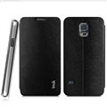 IMAK Squirrel Lines Leather Cases Support Holster Covers for Samsung Galaxy S5 Mini G870 G800 - Black