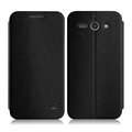 IMAK Squirrel Lines Leather Cases Support Holster Covers for ZTE Grand S2 S291 - Black
