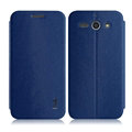 IMAK Squirrel Lines Leather Cases Support Holster Covers for ZTE Grand S2 S291 - Blue