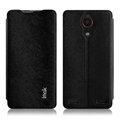 IMAK Squirrel Lines Leather Cases Support Holster Covers for ZTE Nubia Z5s NX503A - Black