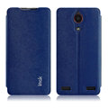 IMAK Squirrel Lines Leather Cases Support Holster Covers for ZTE Nubia Z5s NX503A - Blue