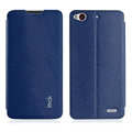 IMAK Squirrel Lines Leather Cases Support Holster Covers for ZTE Nubia Z5s mini NX403A - Blue