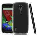 IMAK Stealth Cases Soft Covers TPU Transparent for Motorola G2 - White
