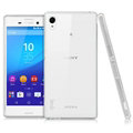IMAK Stealth Cases Soft Covers TPU Transparent for Sony Xperia M4 Aqua - White