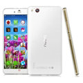IMAK Stealth Cases Soft Covers TPU Transparent for ZTE Nubia Z9 Max NX510J - White
