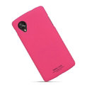 IMAK Ultrathin Matte Color Covers Hard Cases for LG Nexus 5 - Rose