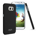 IMAK Ultrathin Matte Color Covers Hard Cases for Samsung Galaxy S6 G920F G9200 - Black