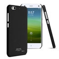 IMAK Ultrathin Matte Color Covers Hard Cases for ZTE Blade S6 Lux Q7 - Black