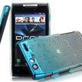 Imak Colorful Raindrop Cases Hard Covers for Motorola XT910 MAXX - Gradient Blue