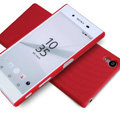 Nillkin Matte Hard Cases Skin Covers for Sony Xperia Z5 - Red