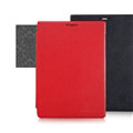 Nillkin Victory Flip Leather Case Book Holster Covers for BlackBerry Passport Silver Edition - Red