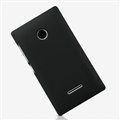 Nillkin Frosted Shield Matte Hard Cases Skin Covers for Microsoft Lumia 532 - Black