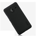 Nillkin Frosted Shield Matte Hard Cases Skin Covers for Microsoft Lumia 640 XL - Black