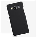 Nillkin Frosted Shield Matte Hard Cases Skin Covers for Samsung Galaxy A5 A5000 - Black