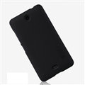 Nillkin Frosted Shield Matte Hard Casing Skin Covers for Microsoft Lumia 430 - Black