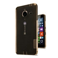 Nillkin Nature TPU Cases Soft Skin Covers for Microsoft Lumia 640 XL - Brown